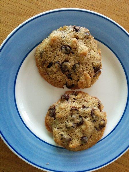 עוגיות שוקולד צ'יפס ואגוזי מלך
