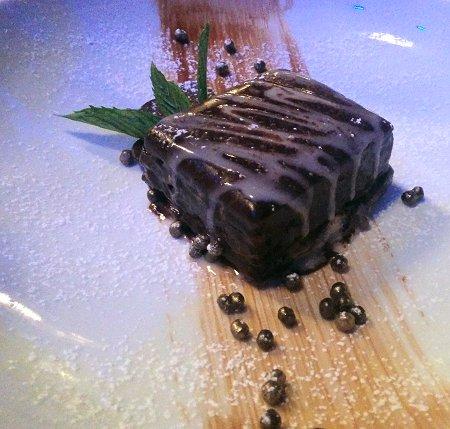 עוגת שוקולד טופי