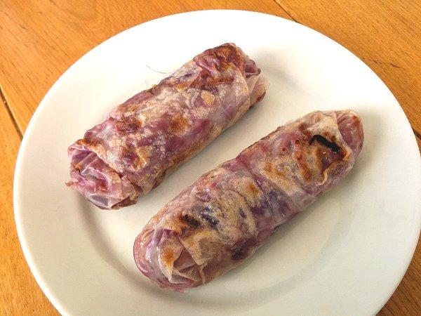 ספרינג רולז חמים במילוי כרוב וגזר