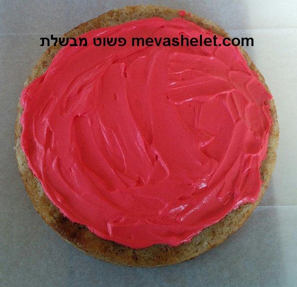 עוגת יום הולדת בצורת פיצה Pizza Birthday Cake
